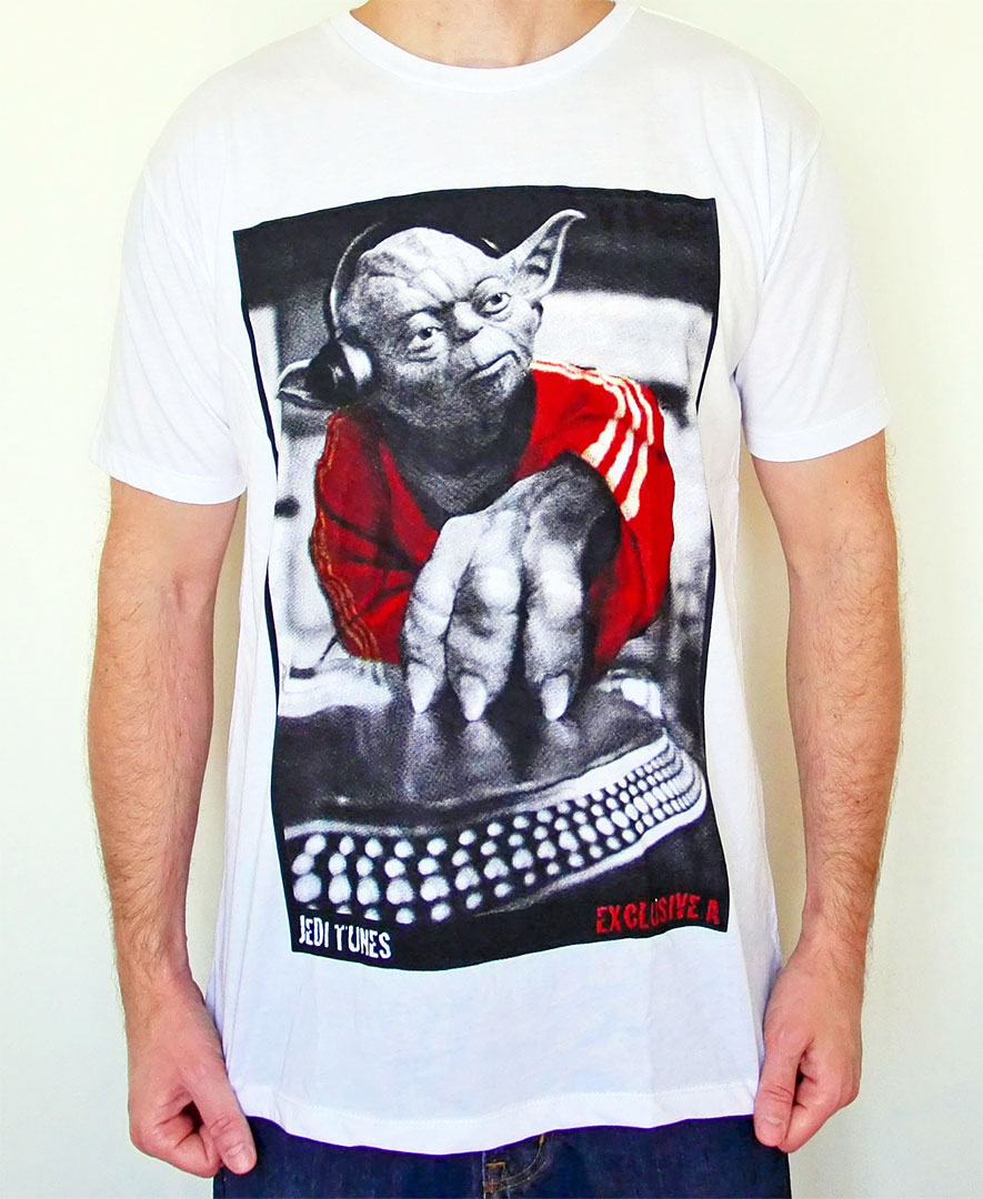 Tshirt Starwars Yoda Dj